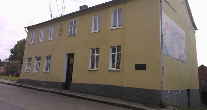 Bagrationowsk. Dom, w którym przebywał Napoleon
