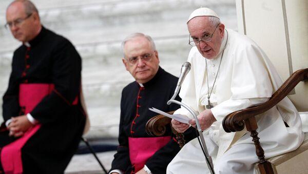 Papież Franciszek - Sputnik Polska
