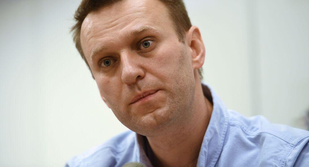 Aleksiej Nawalny.