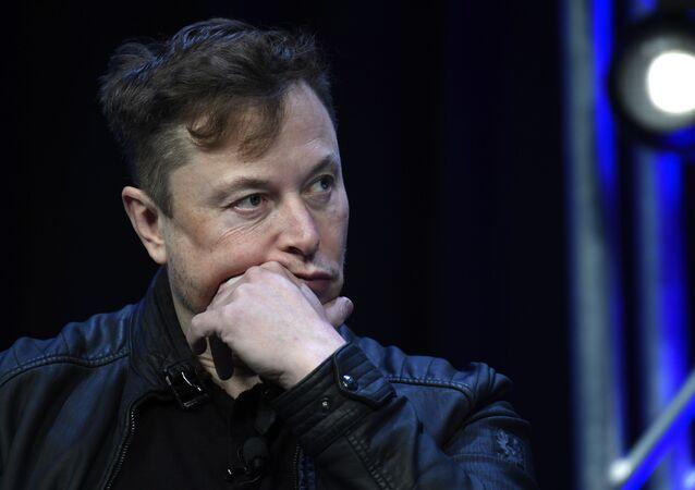 Amerykański przedsiębiorca, wynalazca, inżynier i miliarder Elon Musk