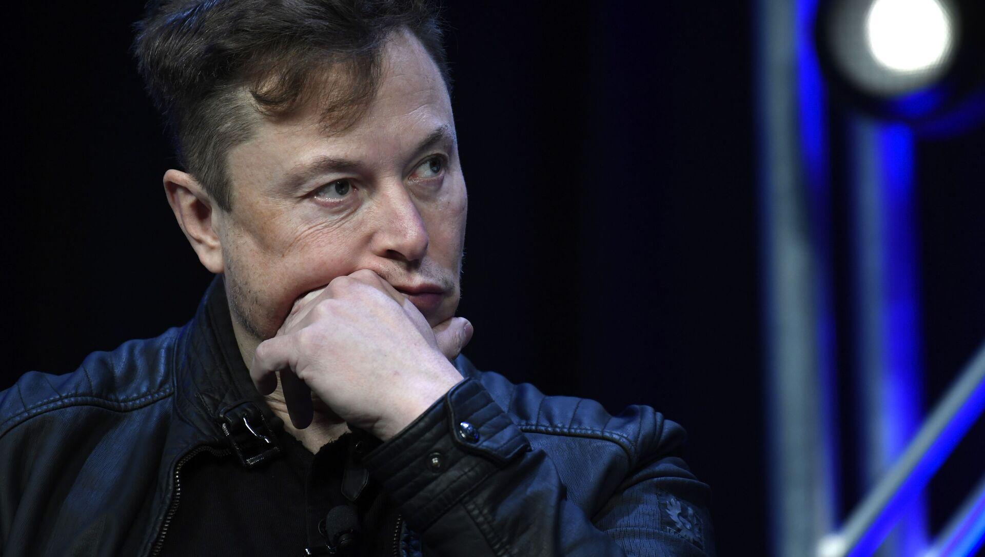 Amerykański przedsiębiorca, wynalazca, inżynier i miliarder Elon Musk - Sputnik Polska, 1920, 10.03.2021