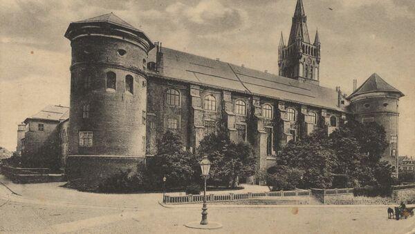 Zamek Królewski w 1917 roku  - Sputnik Polska