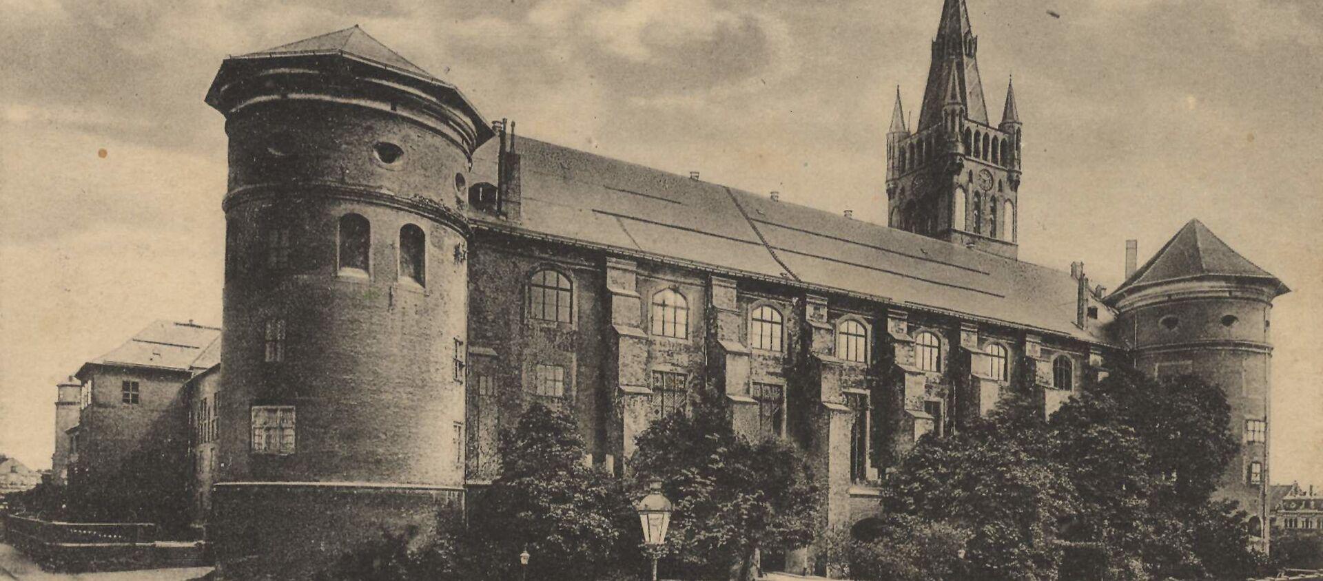 Zamek Królewski w 1917 roku  - Sputnik Polska, 1920, 29.10.2020