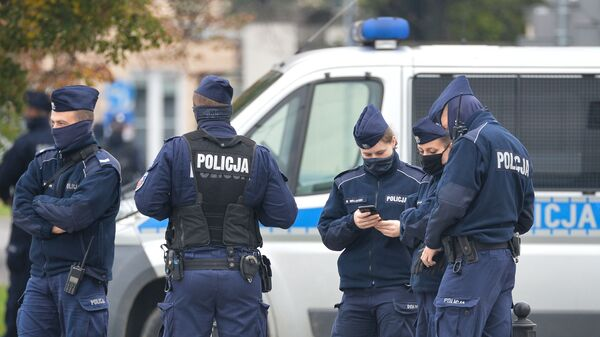 Policjanci - Sputnik Polska