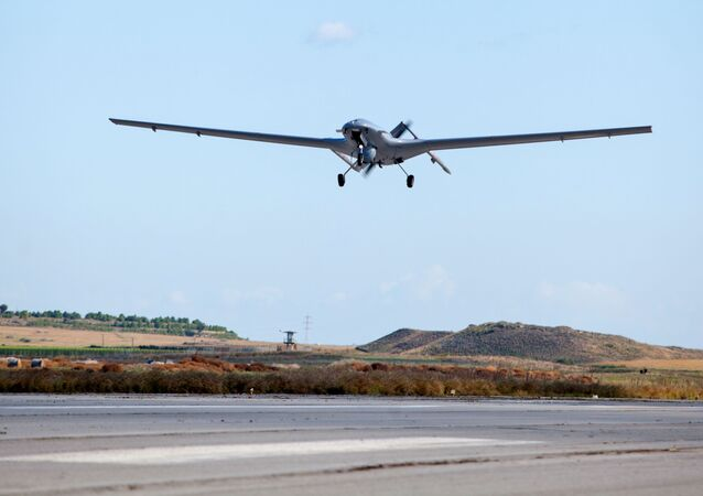 Dron Bayraktar tureckiej produkcji.
