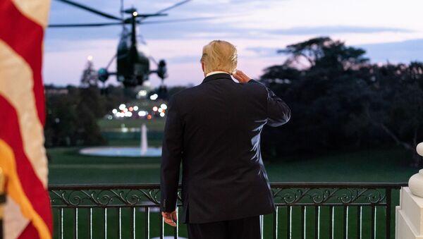Były prezydent USA Donald Trump - Sputnik Polska