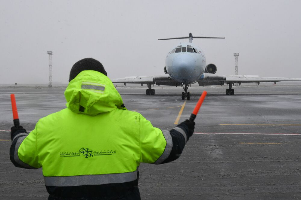 """Samolot Tu-154 rosyjskich linii lotniczych """"Ałrosa"""" wykonał ostatni lot"""