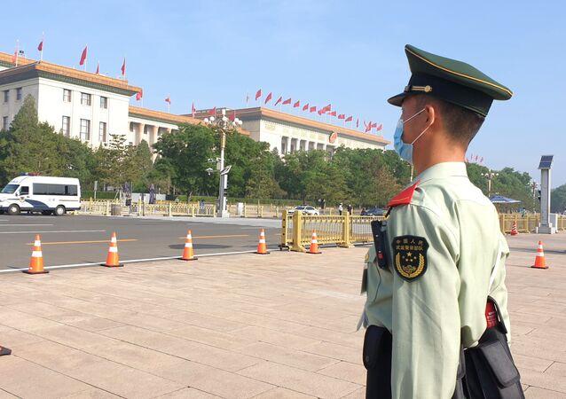 Gmach Zgromadzenia Ludowego w Pekinie.