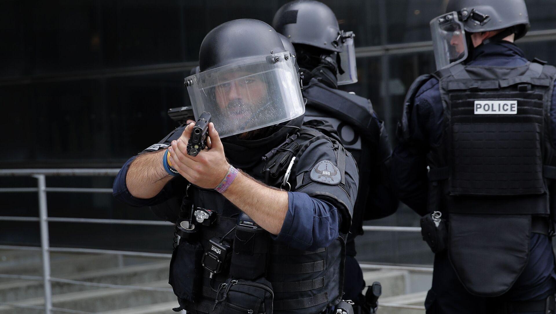 Francuska policja - Sputnik Polska, 1920, 19.05.2021