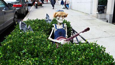 Dekoracje na Halloween w Nowym Jorku