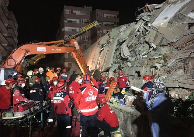 Trzęsienie ziemi w Turcji.