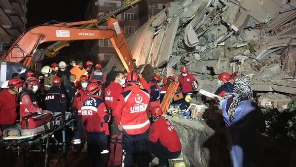 Trzęsienie ziemi w Turcji - Sputnik Polska