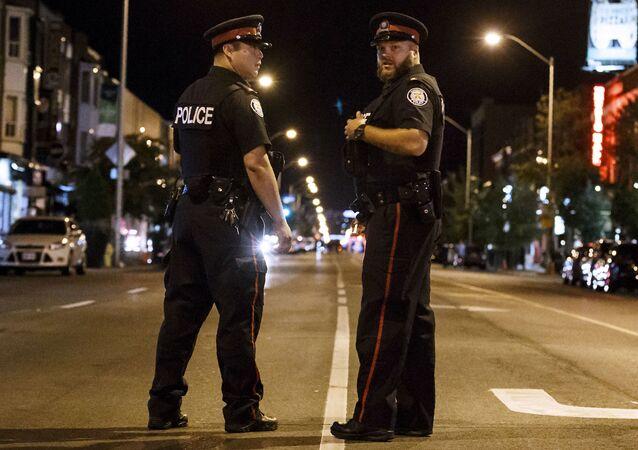 Policja kanadyjska