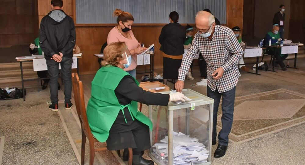 Wybory parlamentarne w Gruzji.