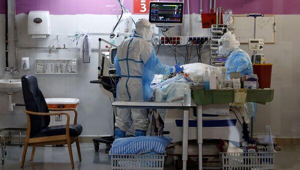 Pandemia koronawirusa w Izraelu - Sputnik Polska