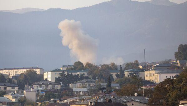 Konflikt zbrojny w Górskim Karabachu. - Sputnik Polska