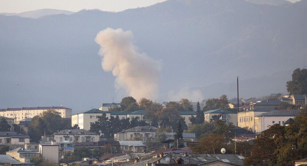 Konflikt zbrojny w Górskim Karabachu.