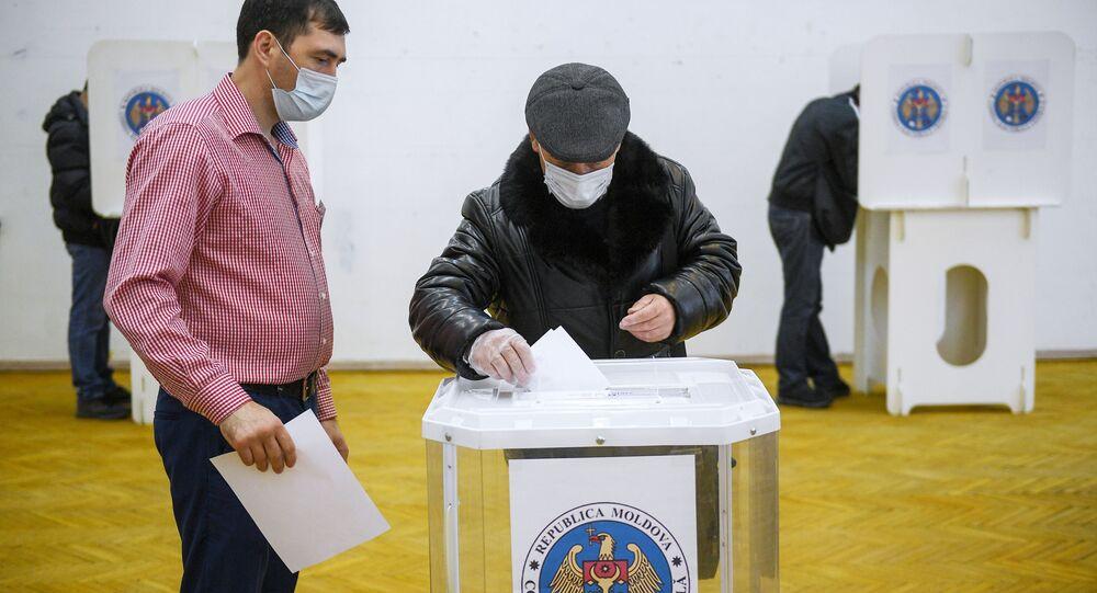 Wybory prezydenckie w Mołdawii.