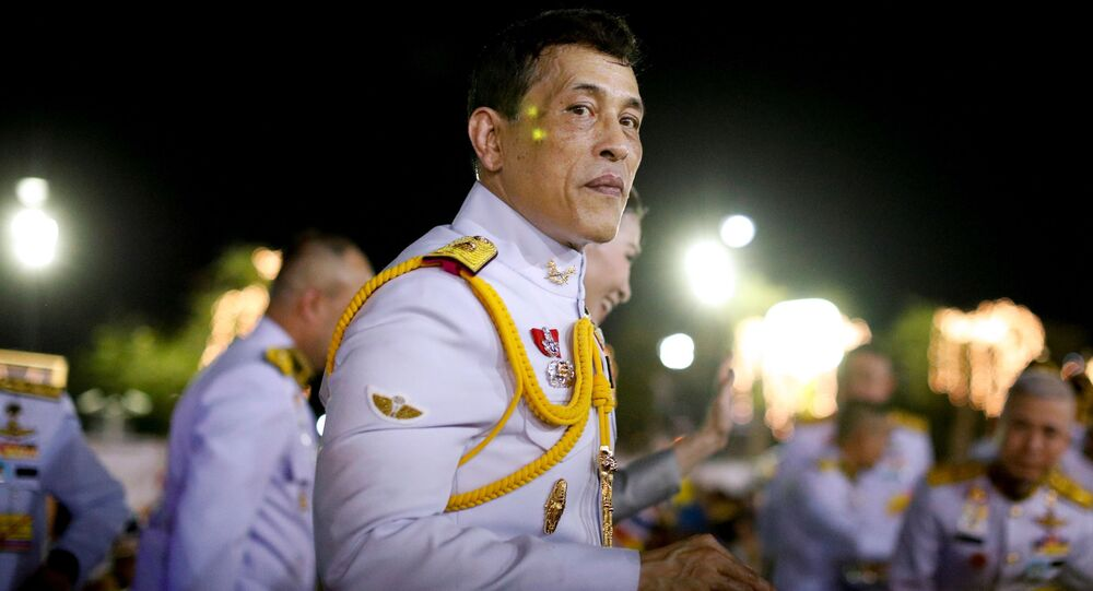 Król Tajlandii Maha Vajiralongkorn