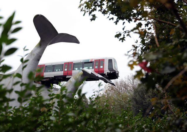 Wypadek na stacji De Akkers pod Rotterdamem