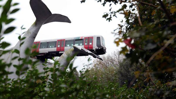 Wypadek na stacji De Akkers pod Rotterdamem - Sputnik Polska