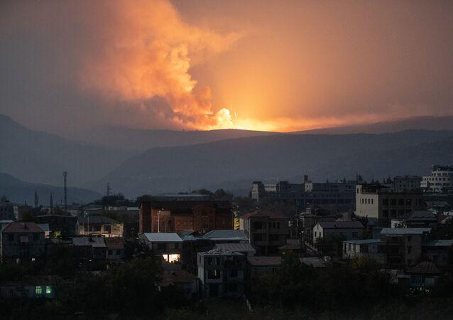 Ostrzały w pobliżu Stepanakert