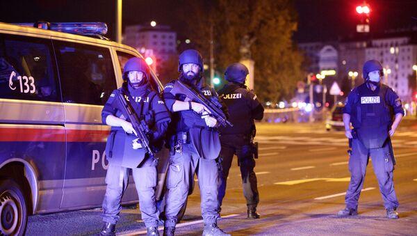 Operacja policyjna w Wiedniu - Sputnik Polska