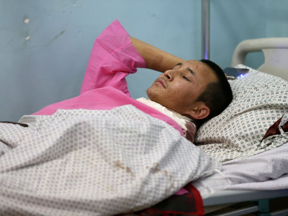 Ranny w ataku na uniwersytet w Kabulu w Afganistanie