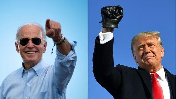 Wybory w USA – kandydaci na prezydenta Donald Trump i Joe Biden - Sputnik Polska