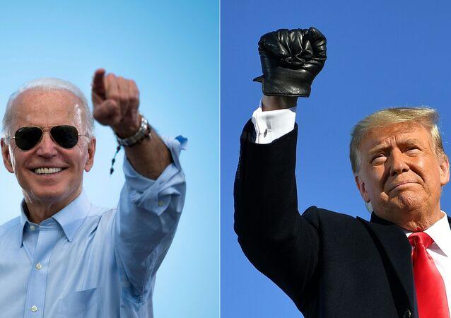 Wybory w USA – kandydaci na prezydenta Donald Trump i Joe Biden.
