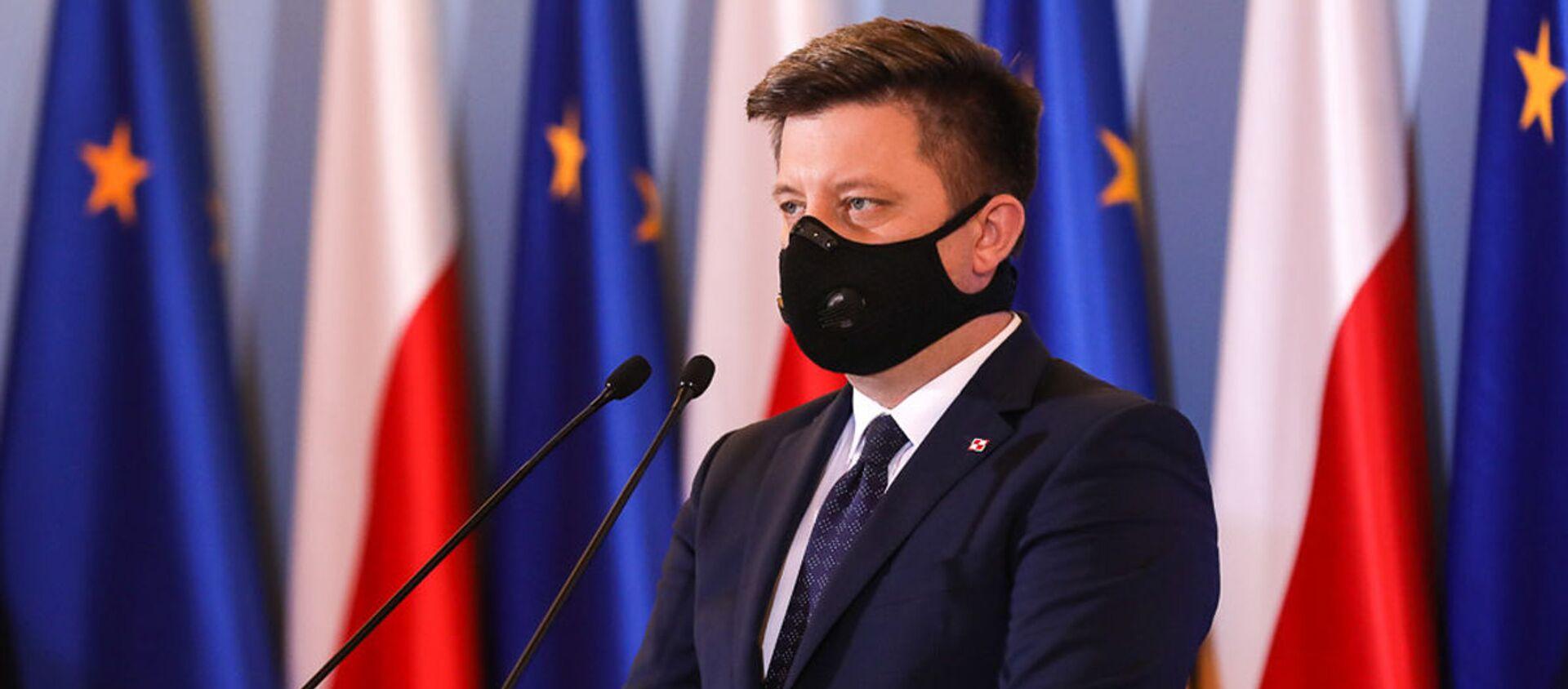 Szef kancelarii Prezesa Rady Ministrów Polski Michał Dworczyk - Sputnik Polska, 1920, 14.06.2021