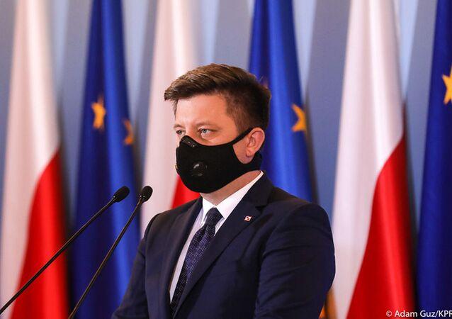 Szef kancelarii Prezesa Rady Ministrów Polski Michał Dworczyk