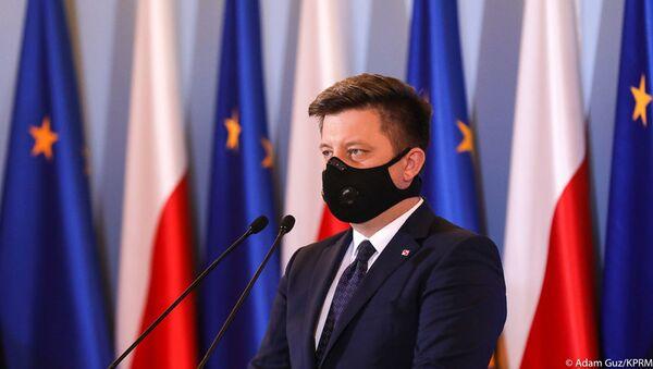Szef kancelarii Prezesa Rady Ministrów Polski Michał Dworczyk - Sputnik Polska