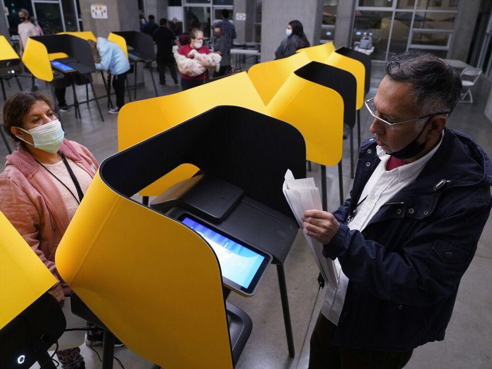 Lokal wyborczy w Los Angeles
