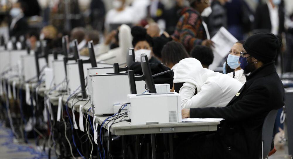Liczenie głosów, oddanych w wyborach prezydenckich w USA 2020