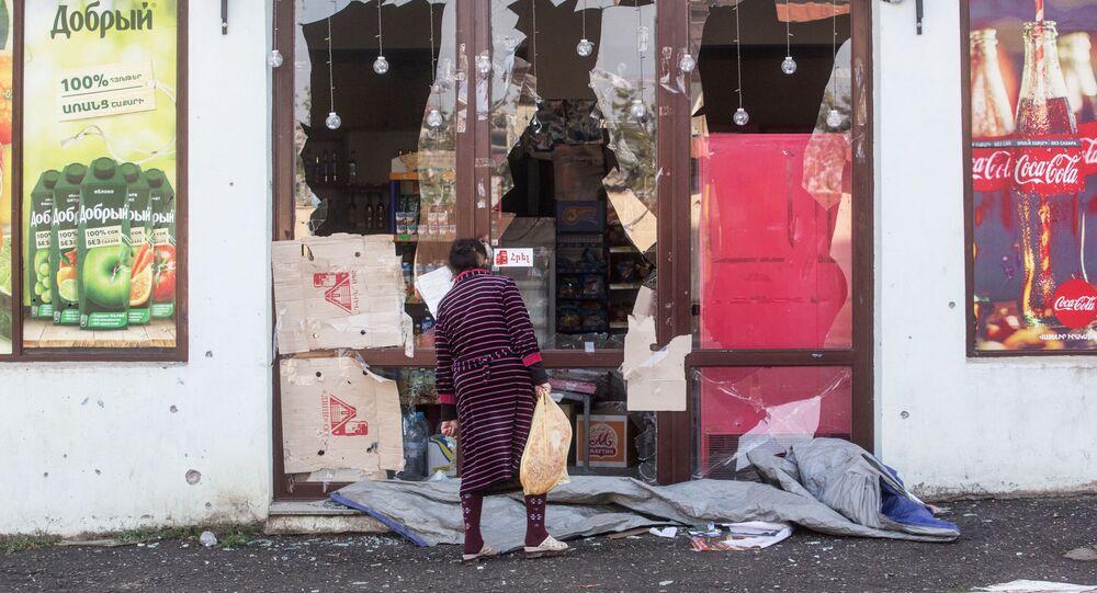 Konsekwencje wieczornego ostrzału Stepanakert
