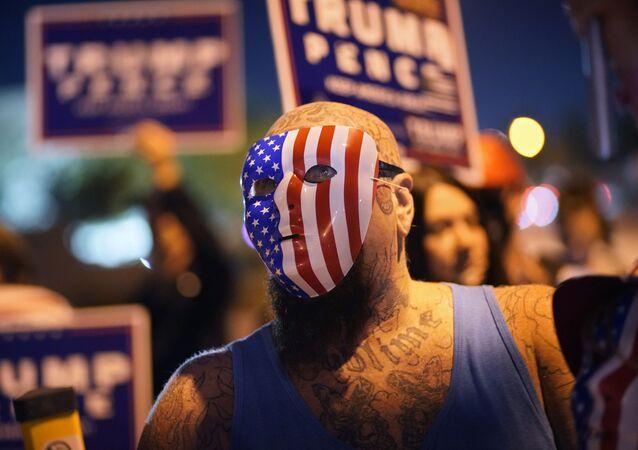 Zwolennicy Donalda Trumpa w Las Vegas