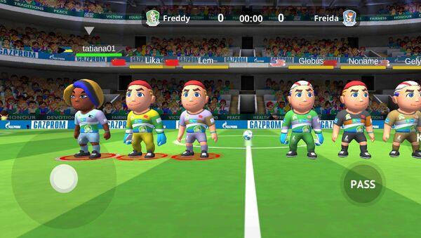 Wieloosobowa gra symulacyjna Football for Friendship World - Sputnik Polska
