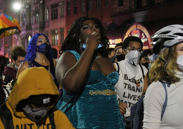 Marsz Black Lives Matter w Nowym Jorku
