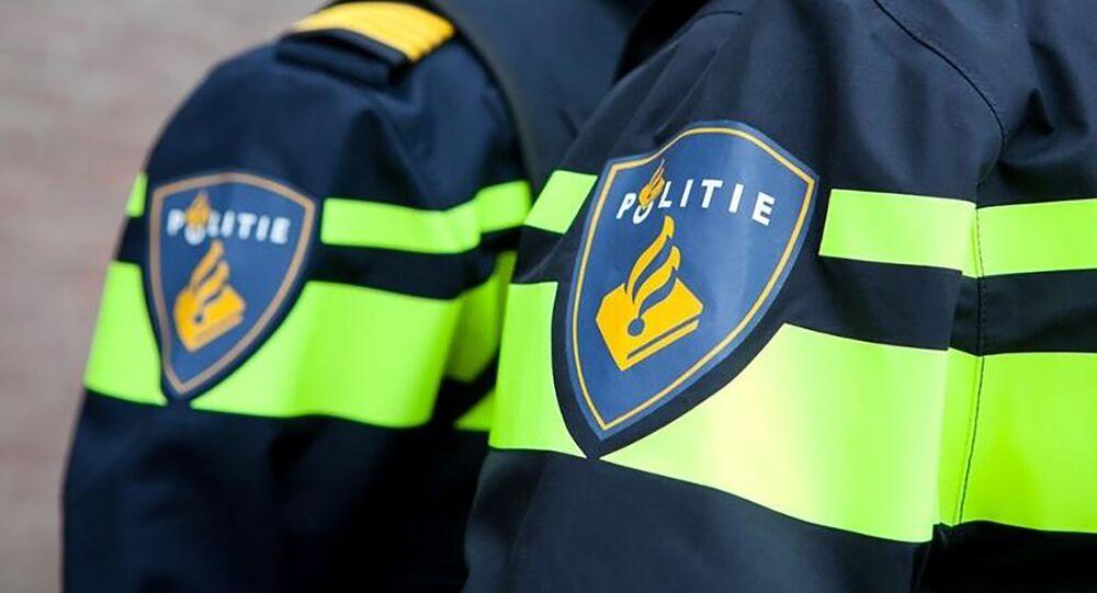 Policja w Holandii.