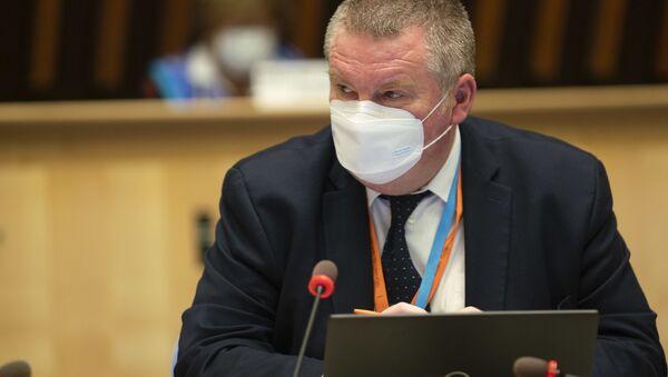 Dyrektor programu WHO ds. sytuacji nadzwyczajnych w dziedzinie zdrowia Michael Ryan - Sputnik Polska