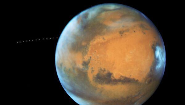 Fobos, satelita Marsa - Sputnik Polska