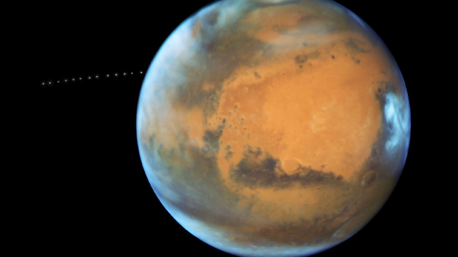 Fobos, satelita Marsa - Sputnik Polska, 1920, 20.08.2021