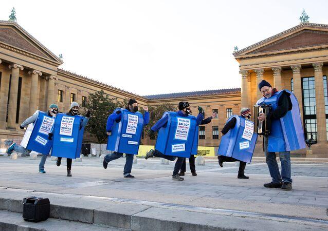 Filadelfia tuż przed wyborami,  02.11. 2020