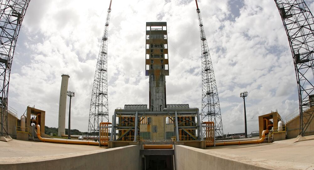 Kosmodrom Kourou w Gujanie Francuskiej.