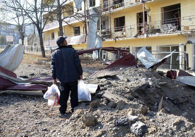 Konflikt zbrojny w Górskim Karabachu. Miasto Szuszi.