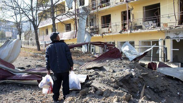 Konflikt zbrojny w Górskim Karabachu. Miasto Szuszi. - Sputnik Polska