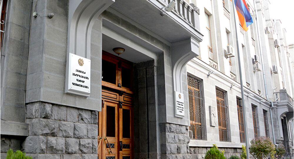 Gmach Prokuratury Generalnej Armenii w Erywanie.