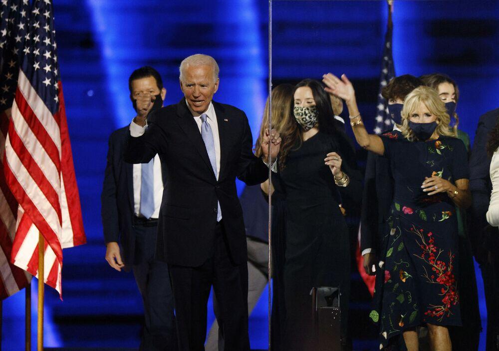 Demokratyczny kandydat na prezydenta Joe Biden