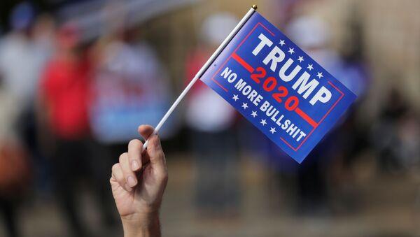 Протестная акция сторонников Дональда Трампа в Атланте - Sputnik Polska